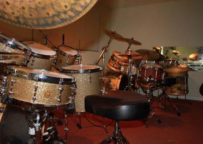 Drumstellen Drumschool Ivo Elfers