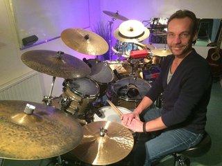 Ivo Elfers eigenaar van Drumschool Ivo Elfers